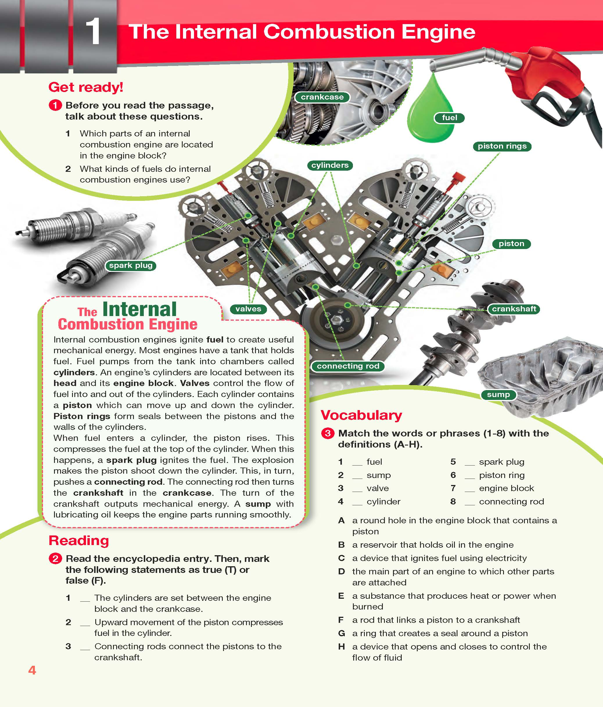ESP English for Specific Purposes - Career Paths: Automotive Industry- Sample Page 1