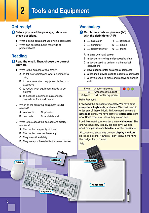 Sample Page 3 - Career Paths: Call Centers