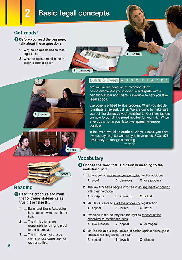 Sample Page 3 - Career Paths: Law