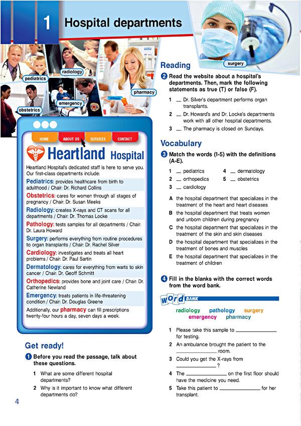 Sample Page 1 - Career Paths: Medical