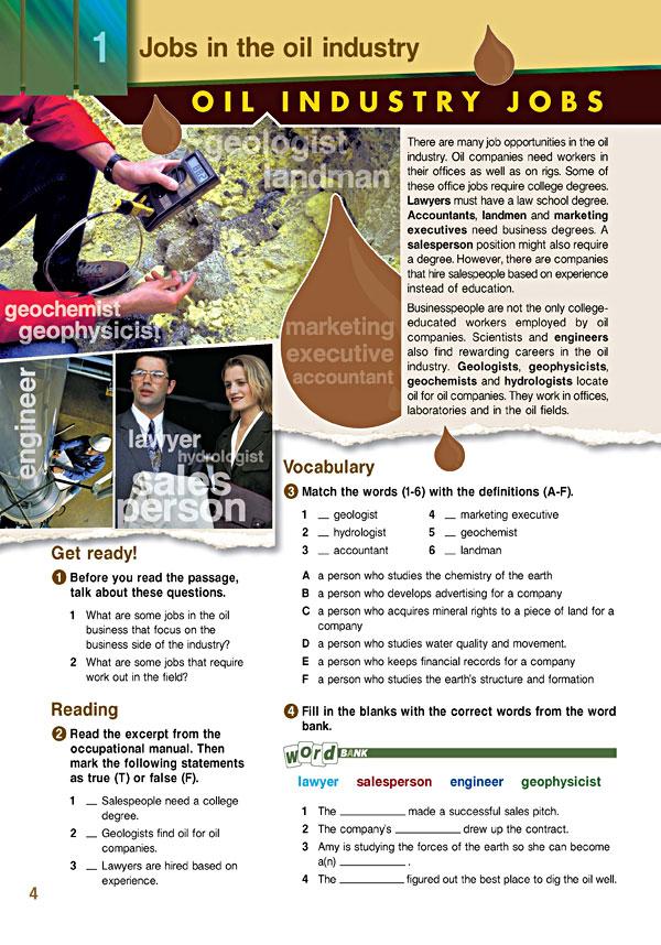 Sample Page 1 - Career Paths: Petroleum I