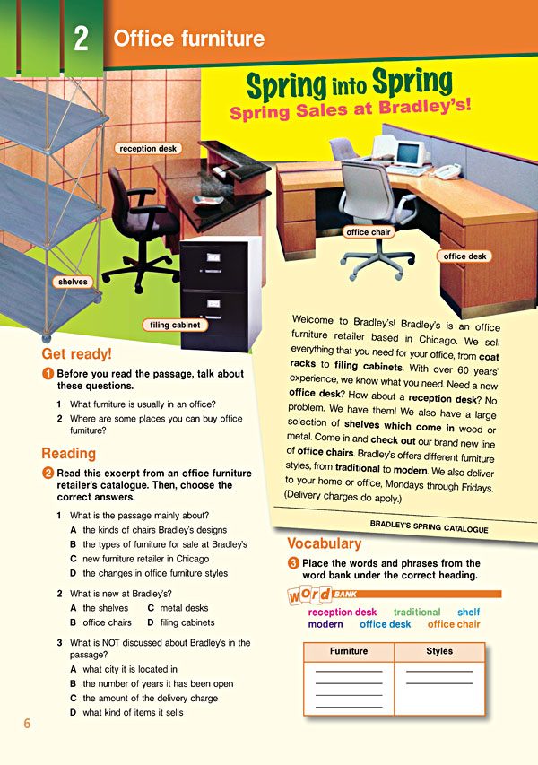 Sample Page 3 - Career Paths: Secretarial