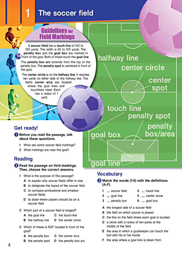 Sample Page 1 - Career Paths: Sports