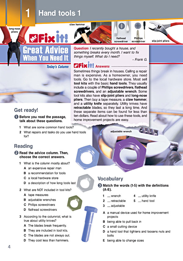 Sample Page 1 - Career Paths: Mechanics