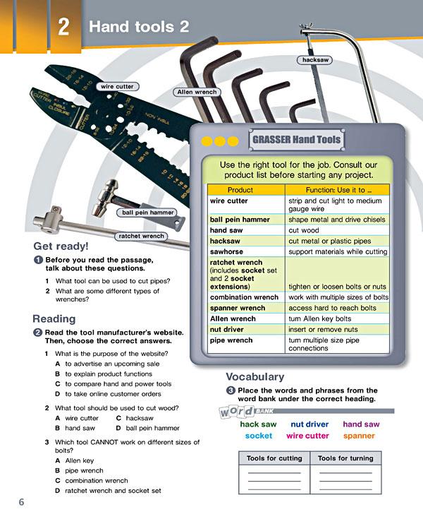 Sample Page 3 - Career Paths: Mechanics