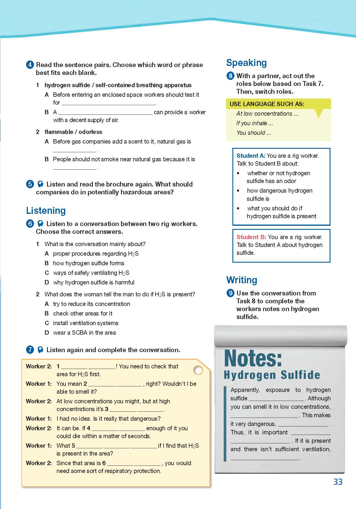 ESP English for Specific Purposes - Career Paths: Natural Gas II - Sample Page 4