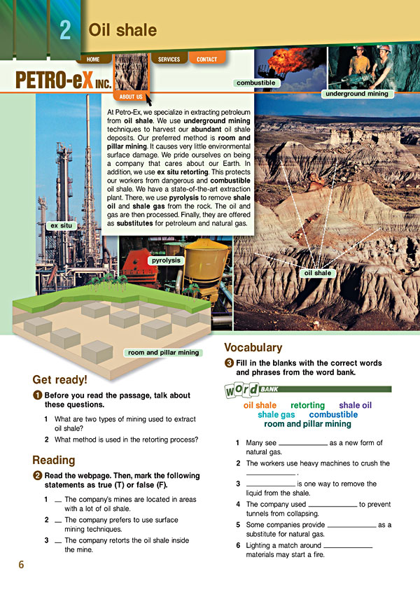 Sample Page 3 - Career Paths: Petroleum II