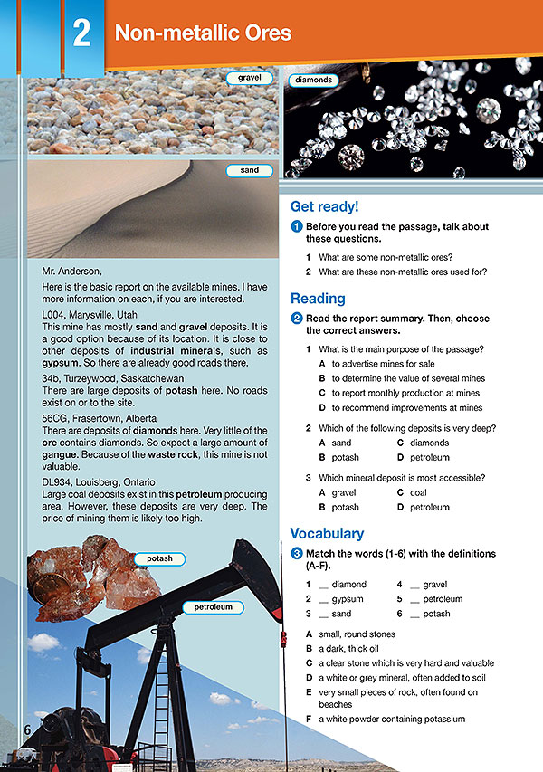 Sample Page 3 - Career Paths: Natural Resources II - Mining