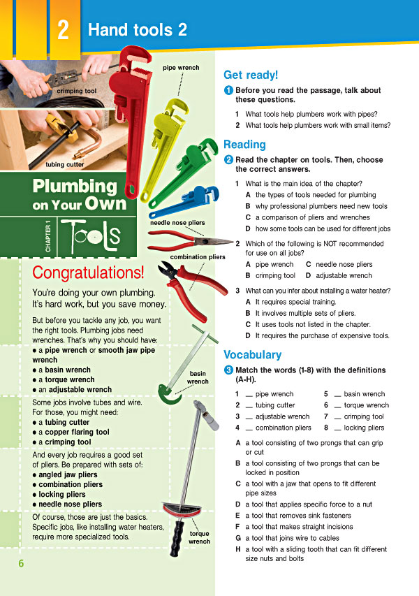 Sample Page 3 - Career Paths: Plumbing