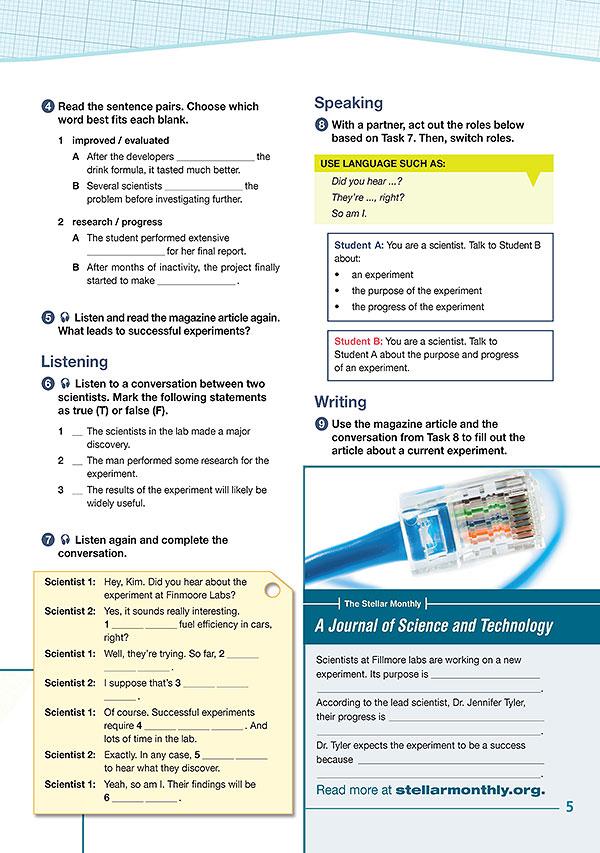 Sample Page 2 - Career Paths: Science