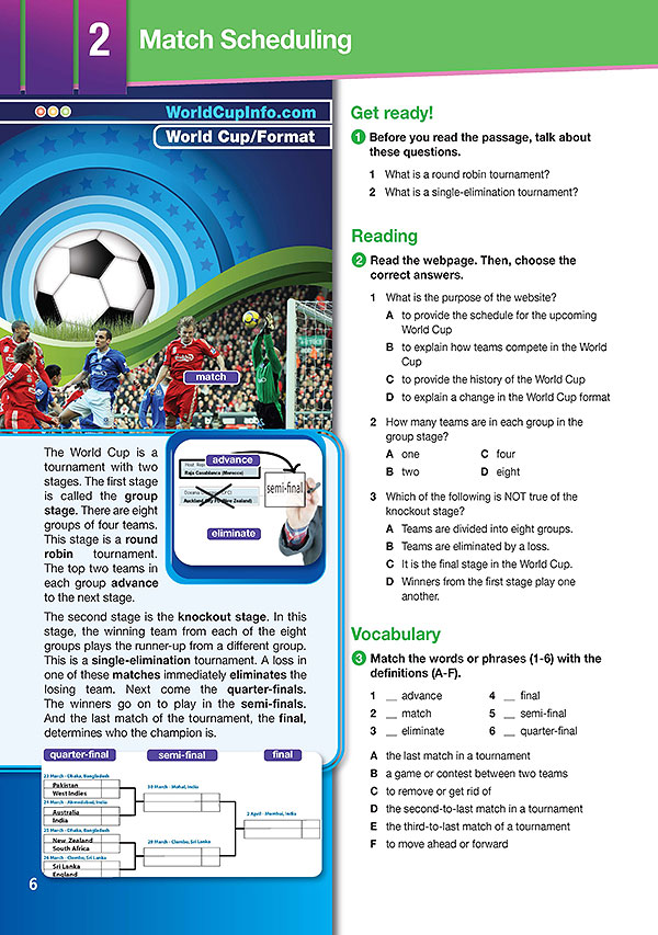 Sample Page 3 - Career Paths: World Cup
