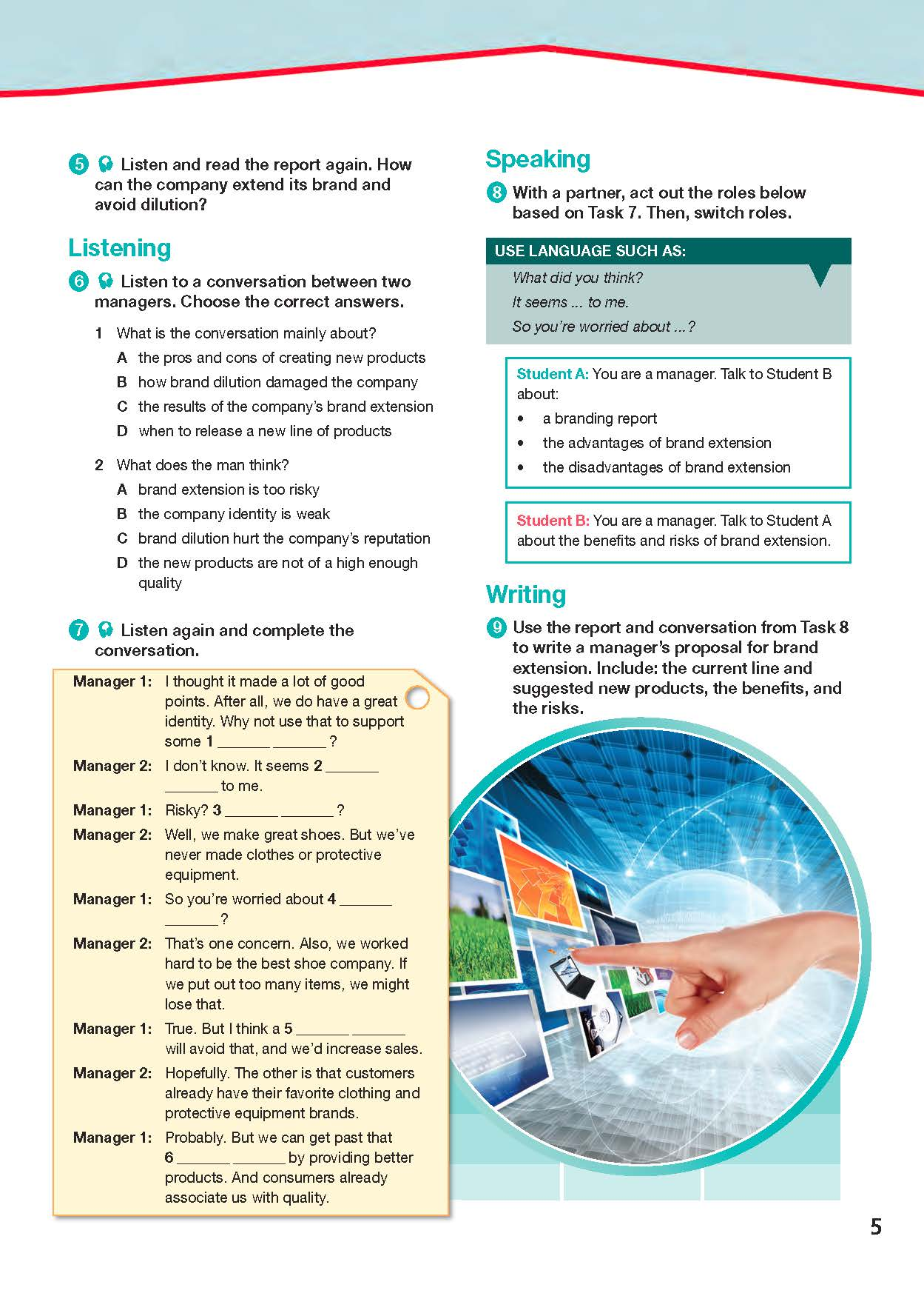 ESP English for Specific Purposes - Career Paths: Sales & Marketing - Sample Page 4