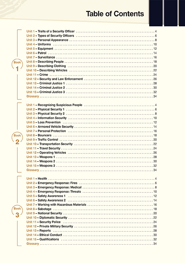 Sample Page 1 - Content - Career Paths: Career Paths: Security Personnel