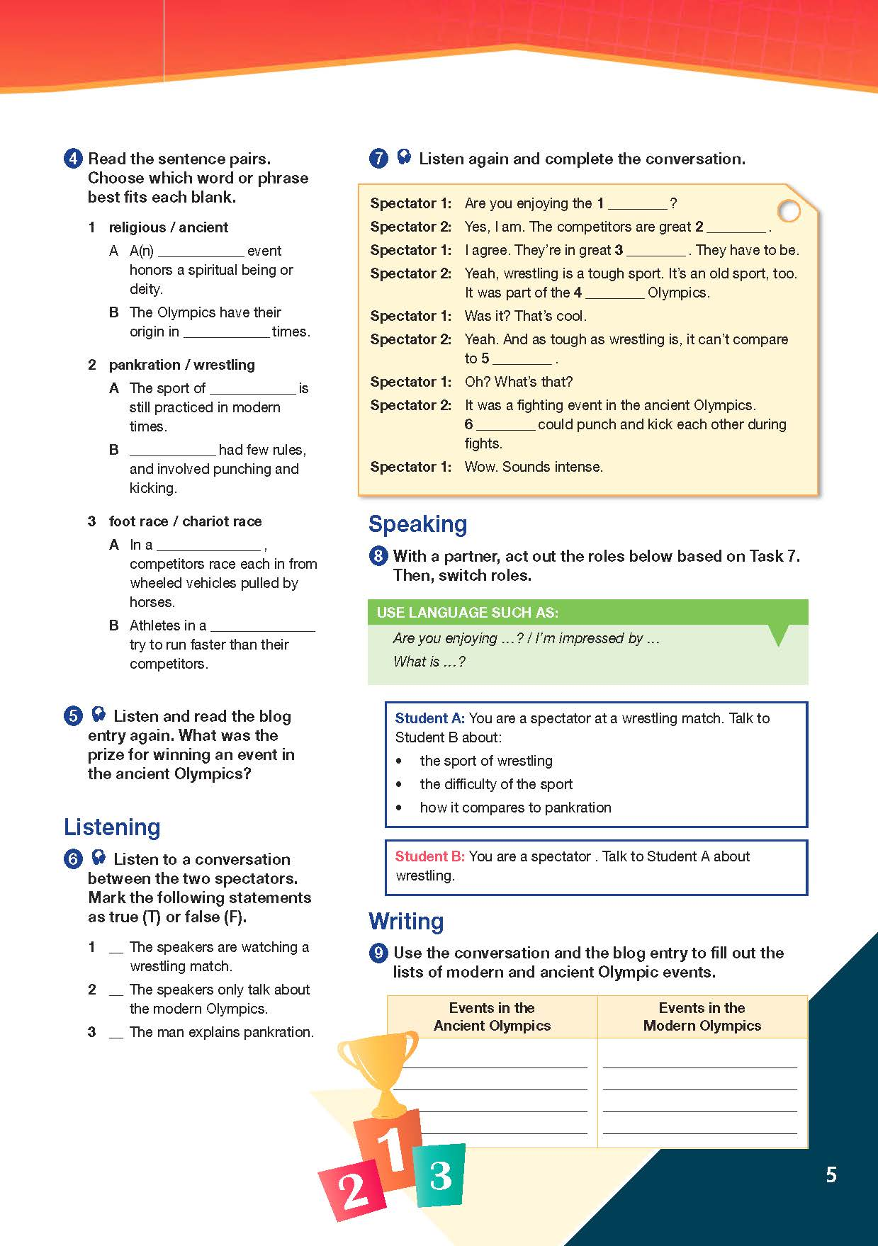 ESP English for Specific Purposes - Career Paths: ESP English for Specific Purposes - Career Paths: Worldwide Sports - Sample Page 2